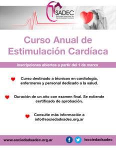 Curso Anual de Estimulacion Cardiaca