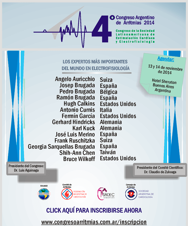 4to Congreso Argentino de Arritmias