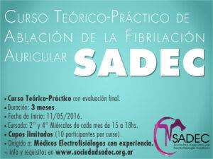 Fibrilacion auricular SADEC