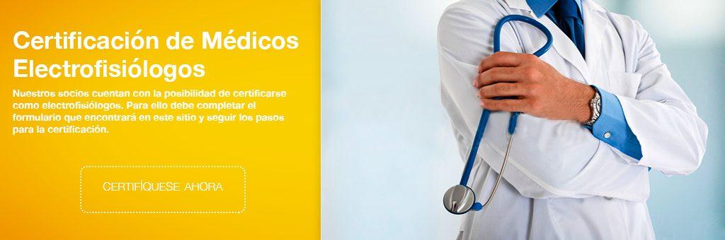 Certificación de Electrofisiólogos