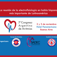 VII Congreso Argentino de Arritmias