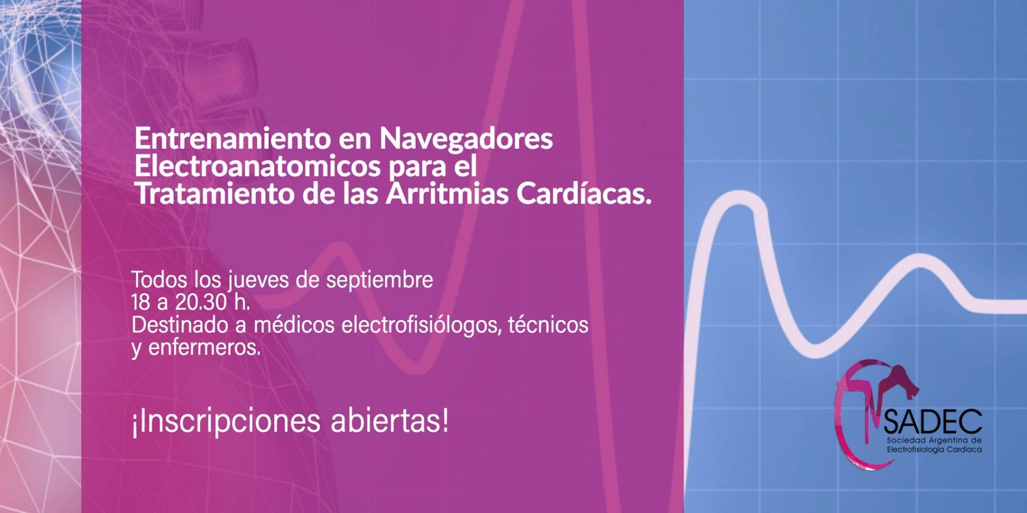 Curso Navegadores Electroanatomicos SADEC