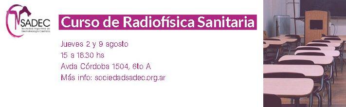 Curso de Radiofísica Sanitaria 2018