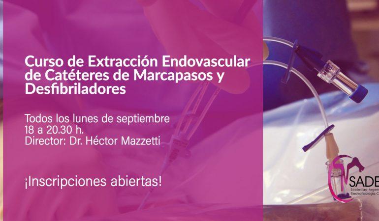 Curso de Extracción Endovascular de Catéteres de Marcapasos y Desfibriladores