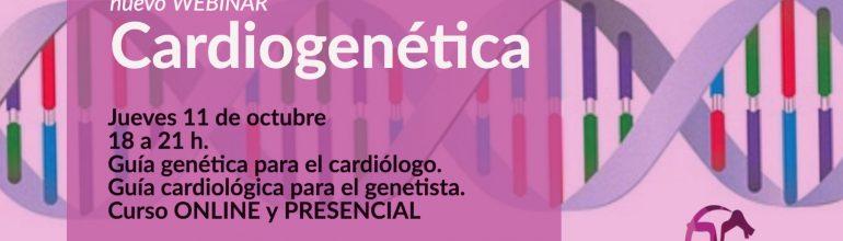 Curso Online y Presencial de Cardiogenética