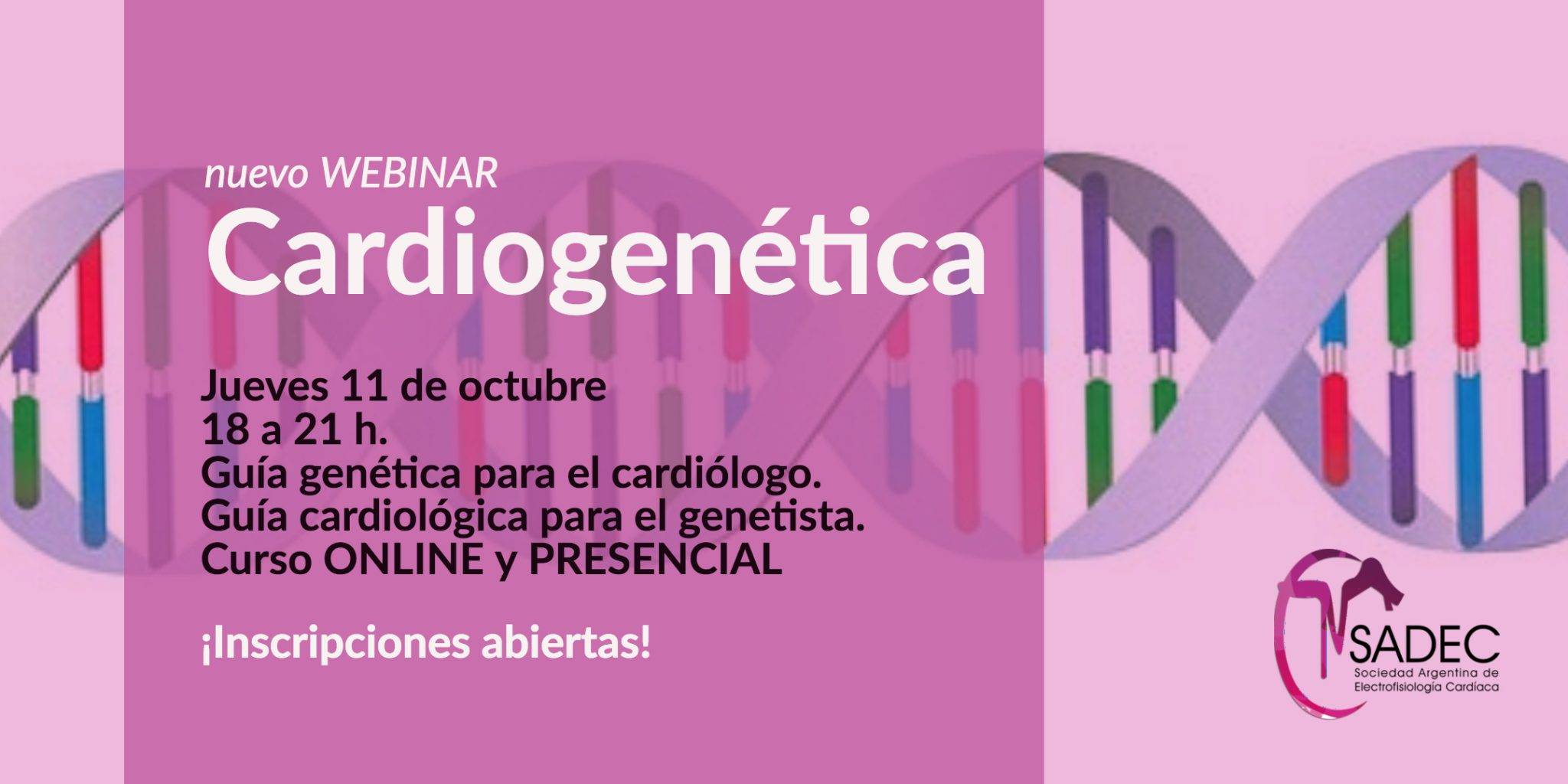 Curso de Cardiogenetica