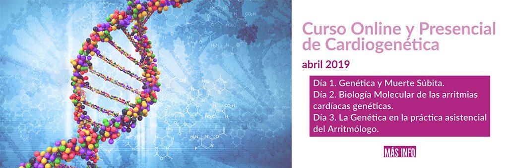 Curso Online y Presencial de Cardiogenetica