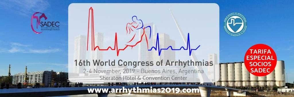 XVI World Congress of Arrhythmias