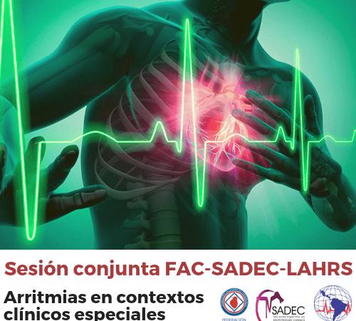 Sesión Conjunta FAC-SADEC-LAHRS en CNC2019