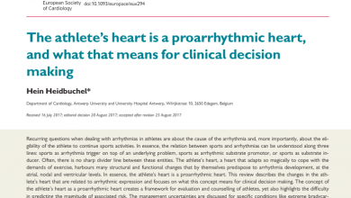 El corazón del atleta es un corazón proarrítmico y lo que eso significa para la toma de decisiones clínicas